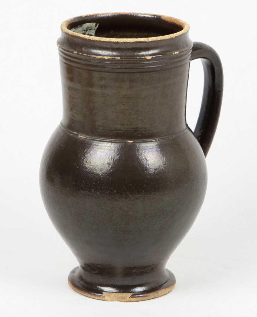 Ceramic jug from around 1800 - photo 1