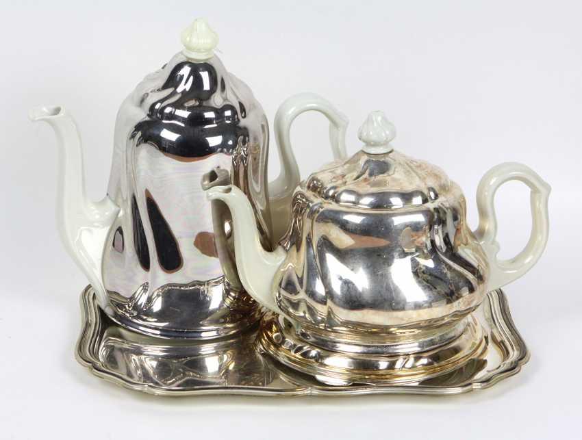 Thermos coffee & teapot 1930s - photo 1