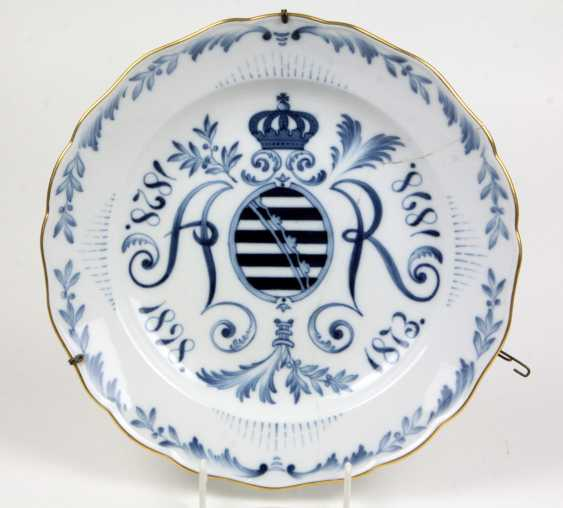 Meissen Anniversary Plates 1828-1898 - photo 1