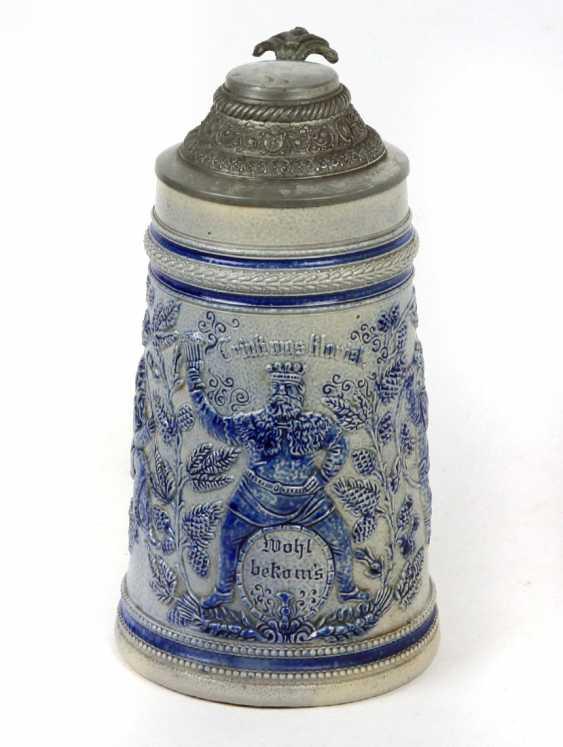 Historicism relief pitcher 1880 - photo 1