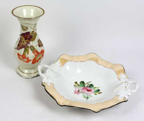 Anbietschale and vase - photo 1