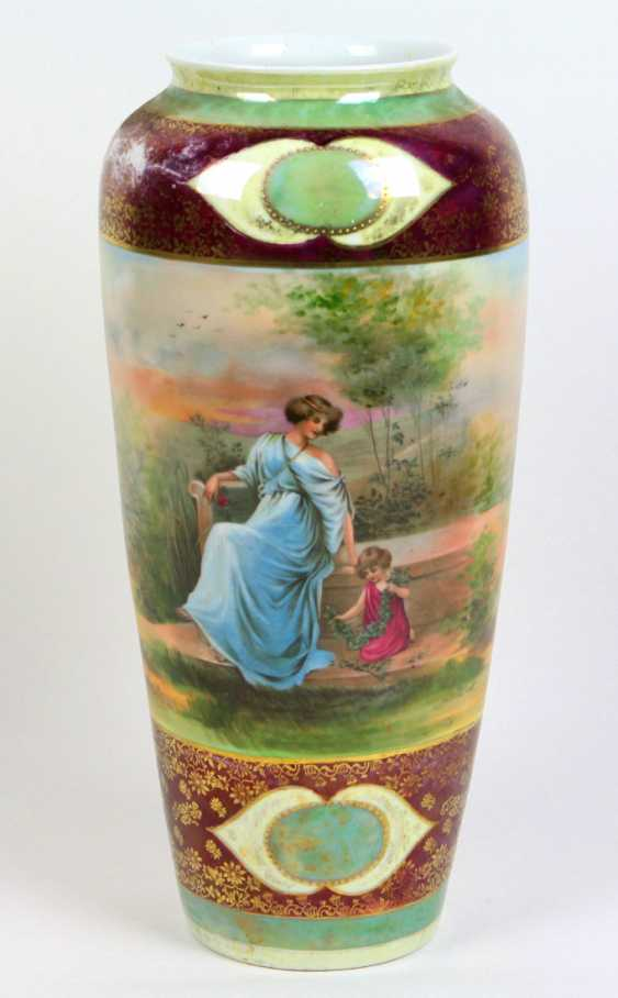 large porcelain vase - photo 1