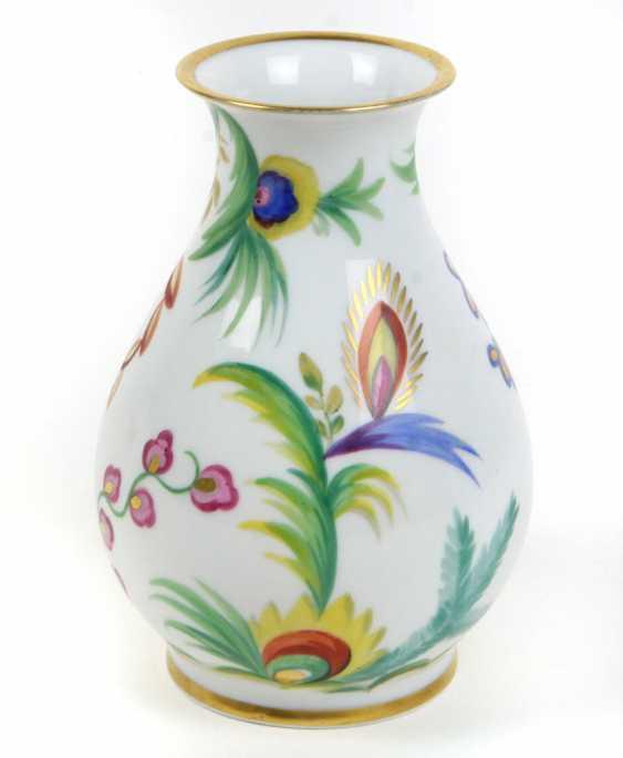 hand-painted Art Deco Vase-1930s - photo 1