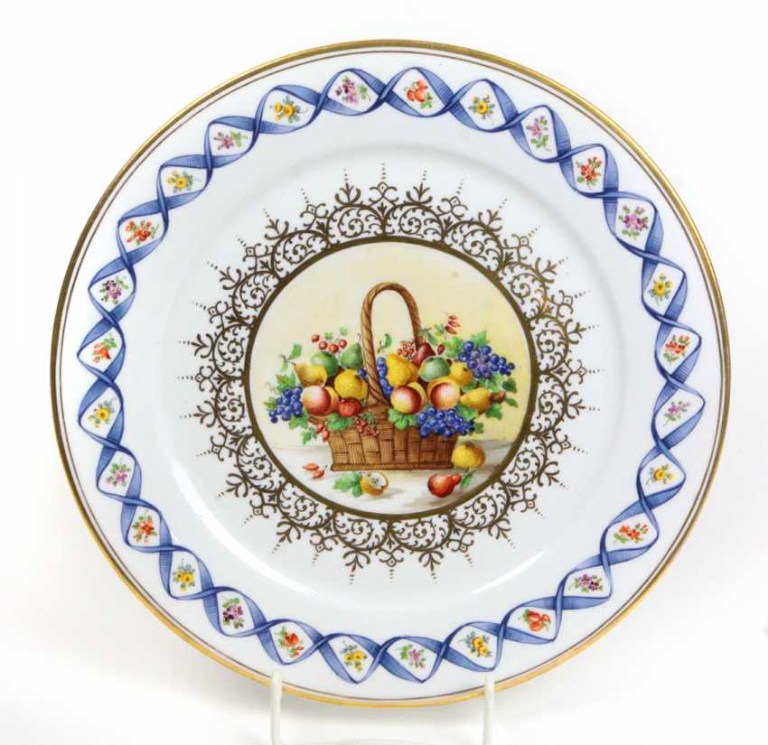 Meissen Plates *Fruit Basket* - photo 1