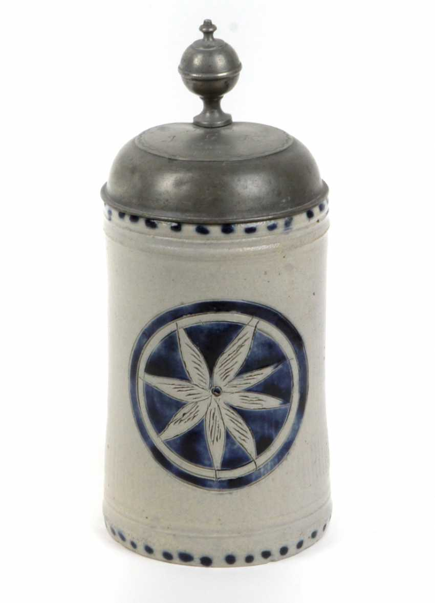 Salt glaze jug circa 1820 - photo 1