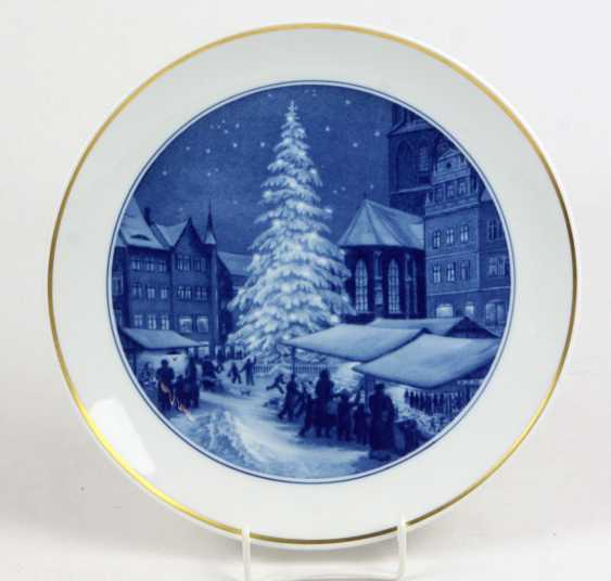 Meissen Christmas Plate 1956 - photo 1