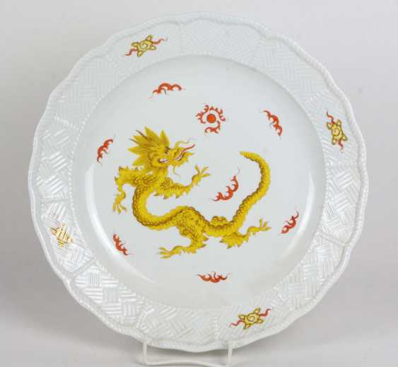Meissen Wall Plate *Ming Dragon* - photo 1