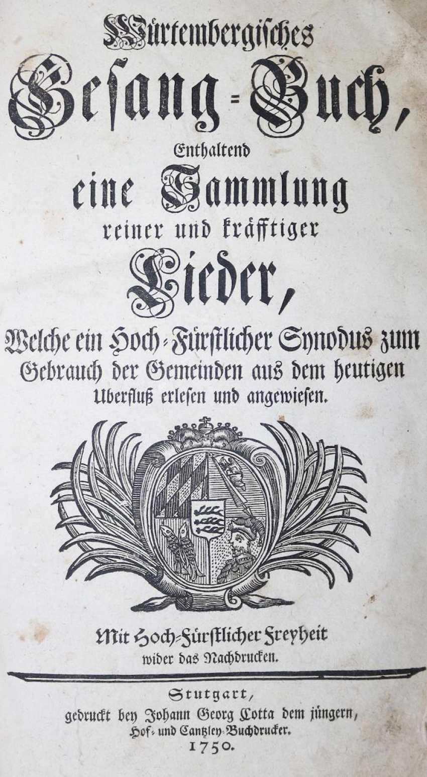 Würtemberg Skills Singing-Book. - photo 1
