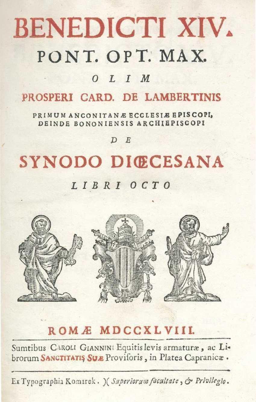 Benedict XIV, Pope (Prospero Lambertini). - photo 1