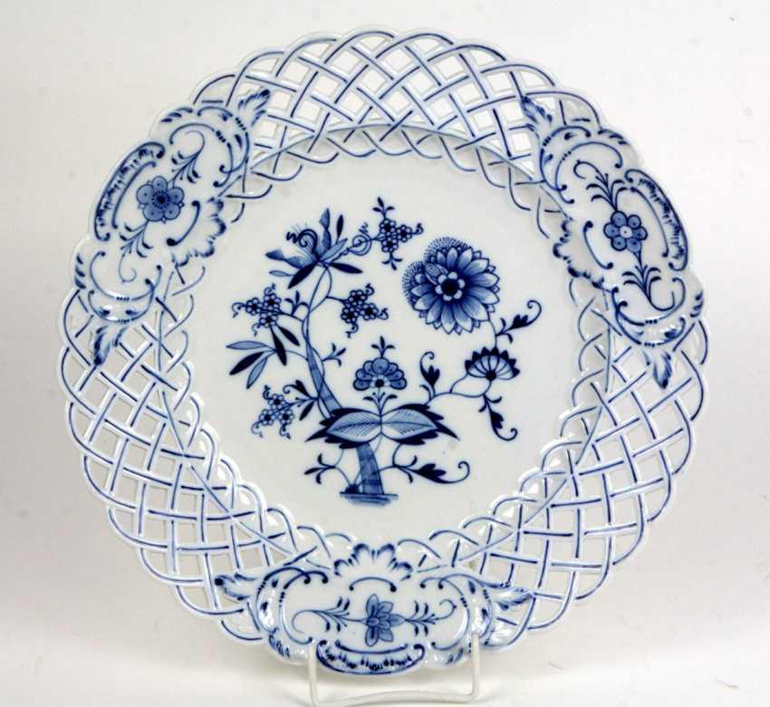 Breakthrough Plate Teichert Meissen - photo 1