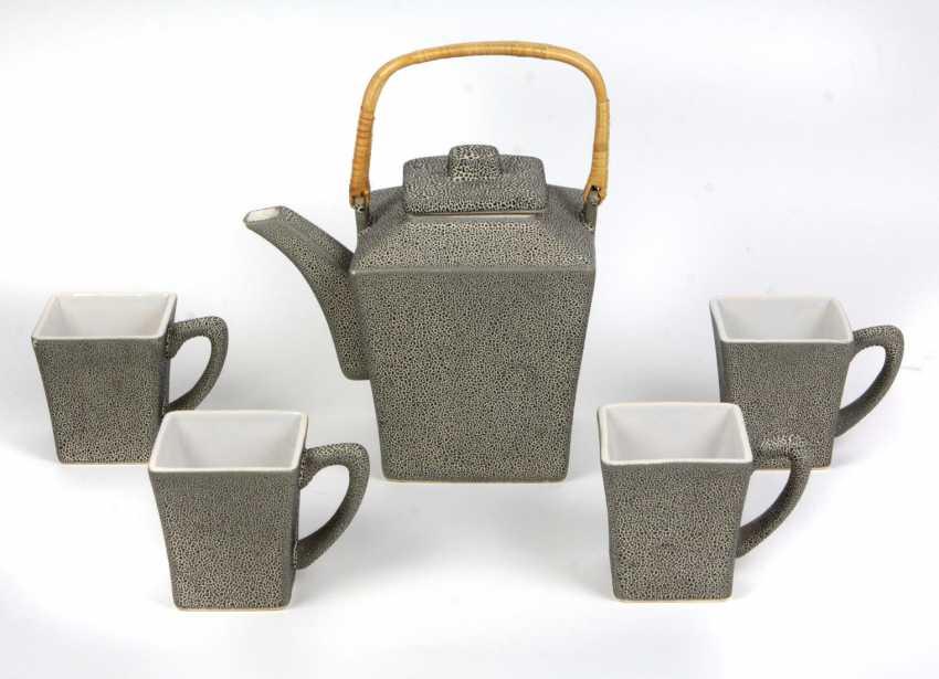 Teapot & 4 cups - photo 1