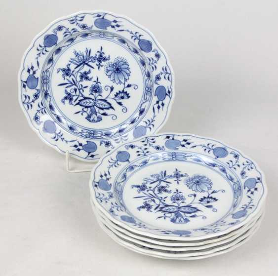 Meissen Set *Onion Pattern* Plate - photo 1