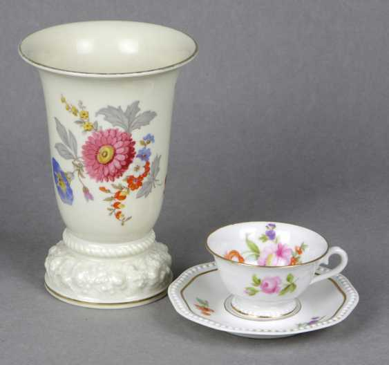 Rosenthal Mokkagedeck u. Vase Maria - photo 1