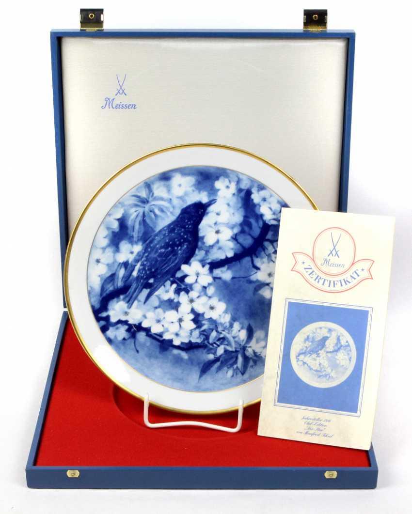 Meissen Year Plate *The Star* 1986 - photo 1