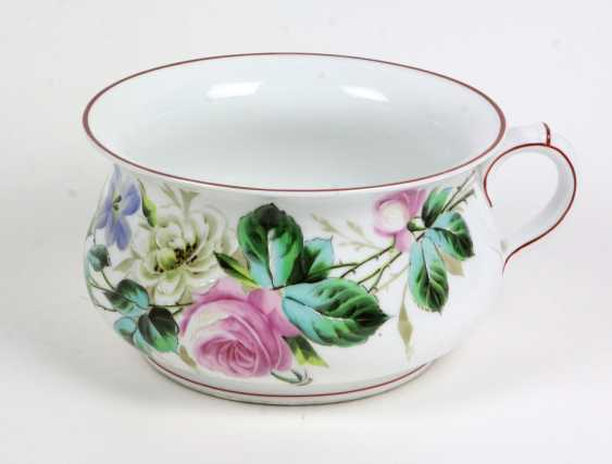 hand-painted chamber pot, 1920s - photo 1