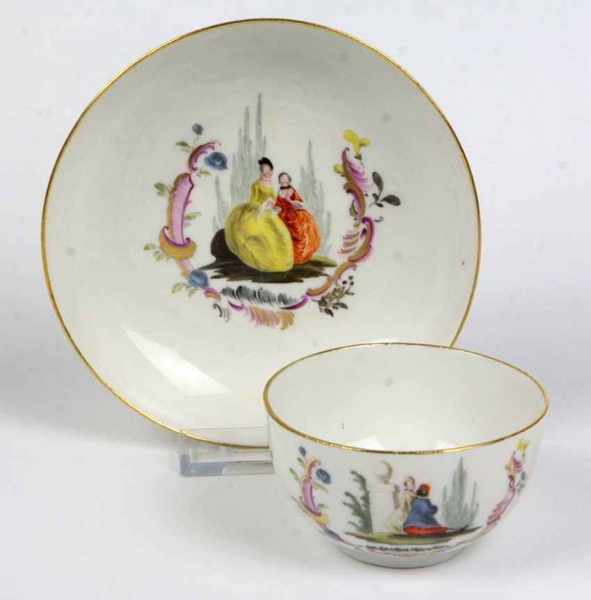 Meissen Courtly Rococo table Setting to 1745 - photo 1