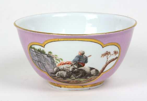 Meissen sumptuous dish to 1740 - photo 1