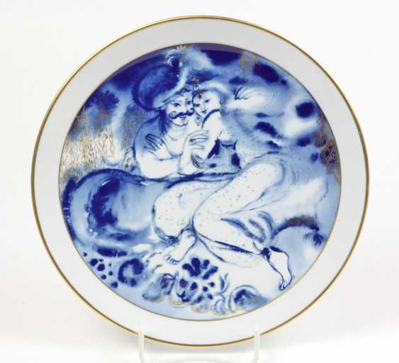 Meissen Year Plate *Dawn* 1984 - photo 1