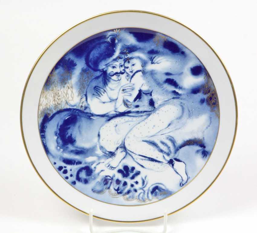 Meissen Year Plate *Dawn* 1984 - photo 1