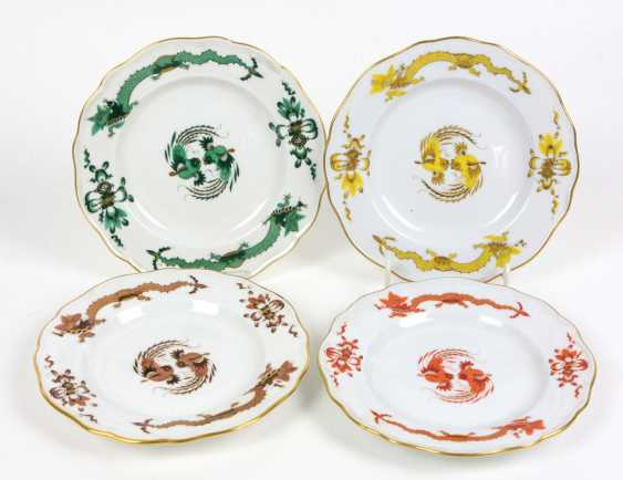 Meissen Set Of Plates *Rich Dragon* - photo 1