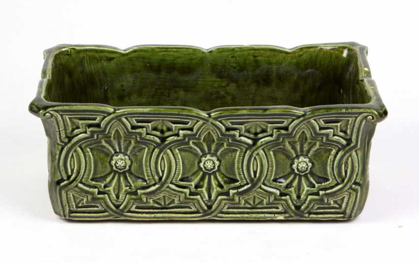 Art Nouveau Style Plant Tray - photo 1