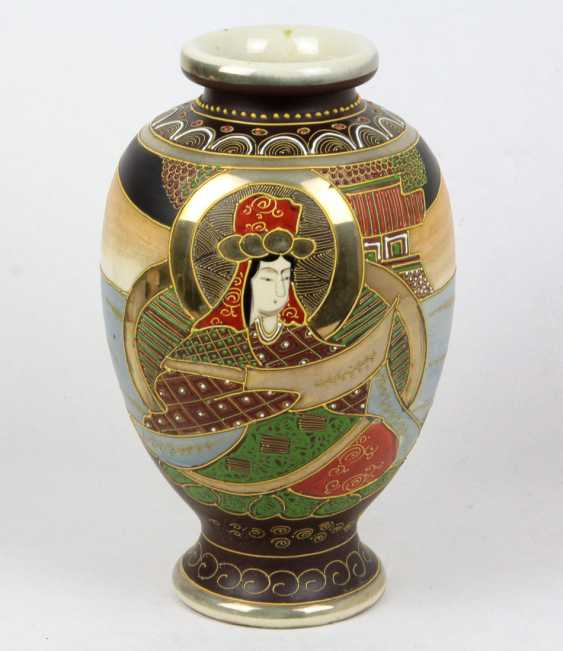 asiatische Vase - photo 1