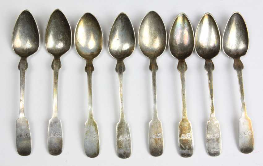 Set Shovel Spoon Silver 800 - photo 1