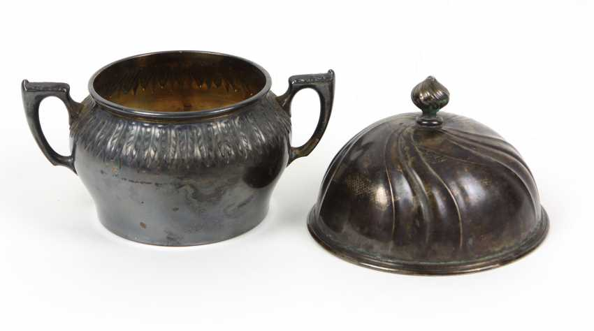 Sugar bowl - silver 800 and others - photo 1