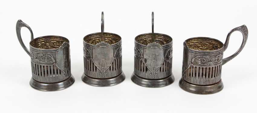 Set of Russian tea glass holder - photo 1