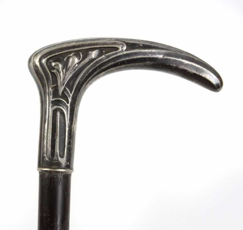 Art Nouveau walking stick circa 1910 - photo 1