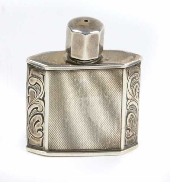 silver perfume bottle - photo 1