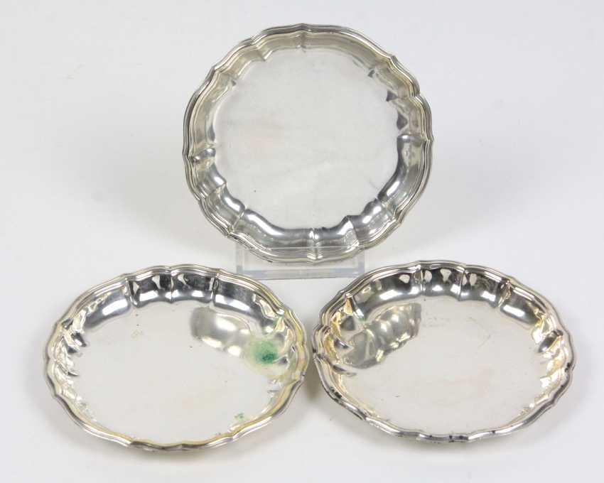 3 Coasters - Silver 800 - photo 1