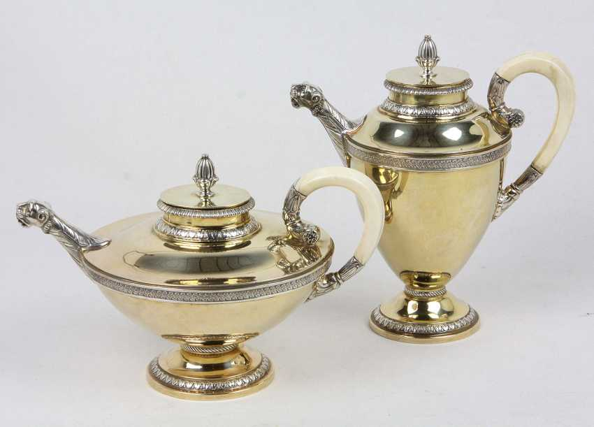 Coffee & teapot - silver 925 - photo 1
