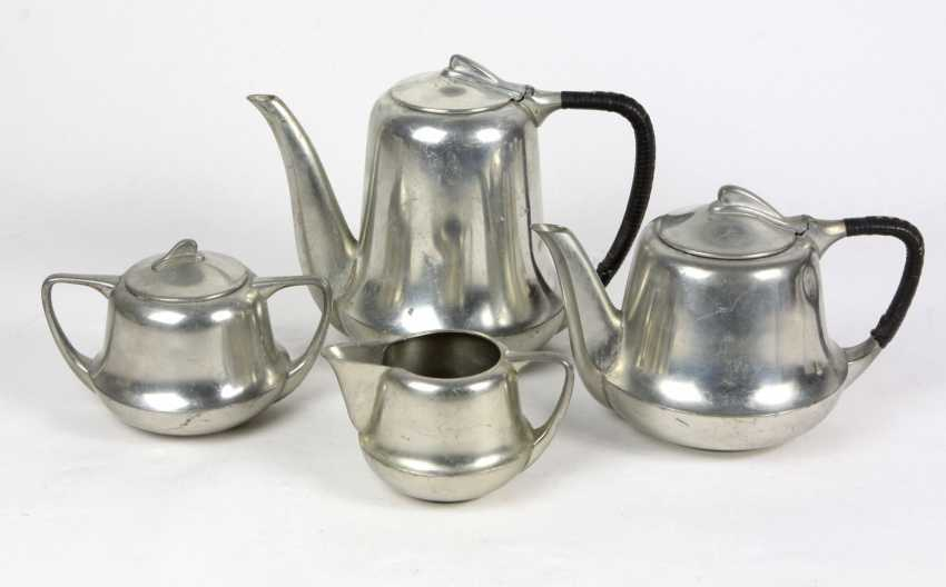four-piece art Nouveau coffee core - photo 1