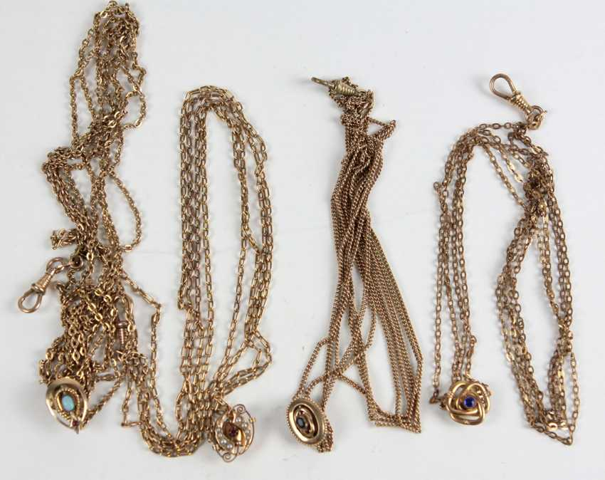 4 watch chain with slide - photo 1