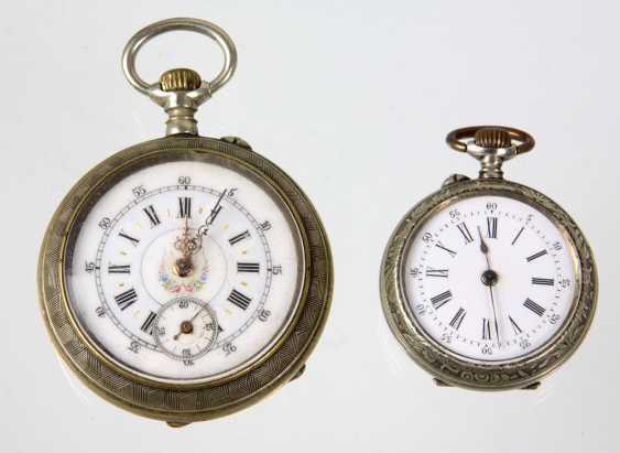 2 pocket watches, around 1920 - photo 1