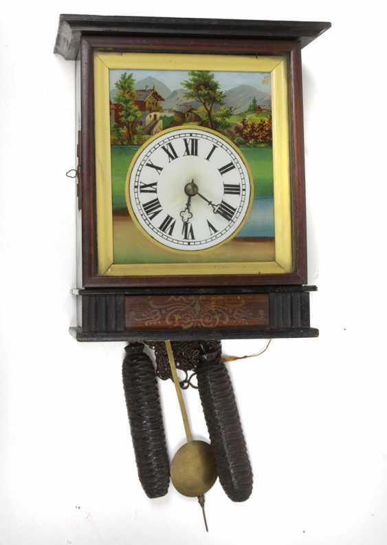 Biedermeier picture clock to 1860 - photo 1