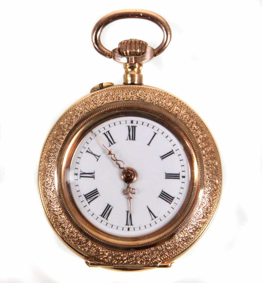 Ladies Pocket Watch - Yellow Gold 585 - photo 1