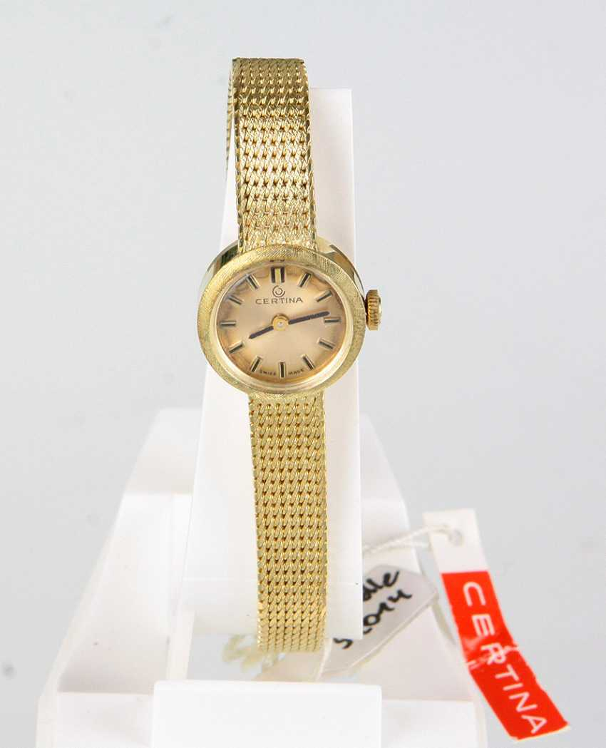 *Certina* Ladies Wrist Watch - Yellow Gold 585 - photo 1