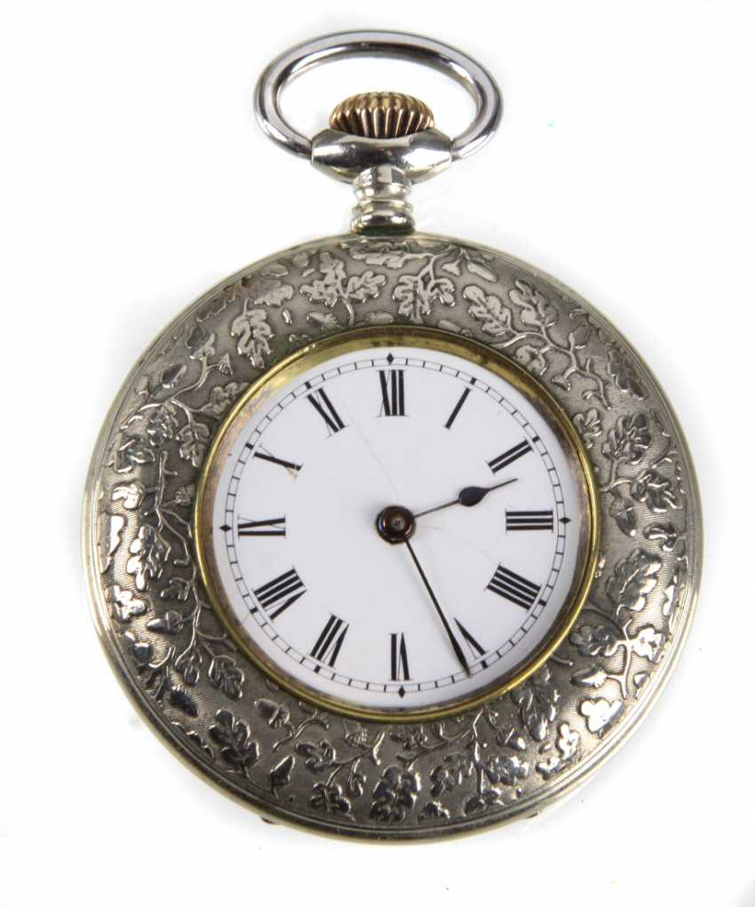 Mens Pocket Watch Oak Leaves - photo 1