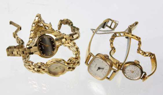 4 ladies wrist watches - photo 1