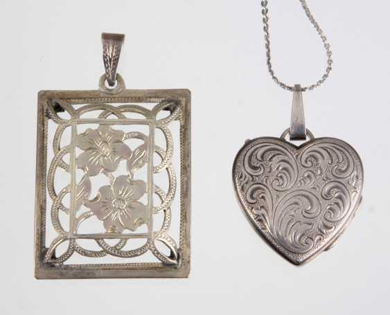 Pendant & heart locket - photo 1