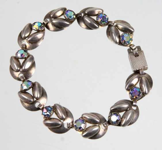 Design bracelet with rhinestones - photo 1