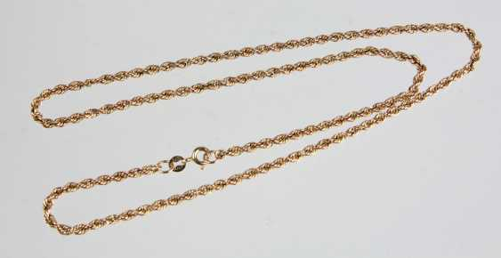 Cord Necklace - Yellow Gold 375 - photo 1