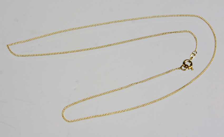 fine gold chain yellow gold 585 - photo 1