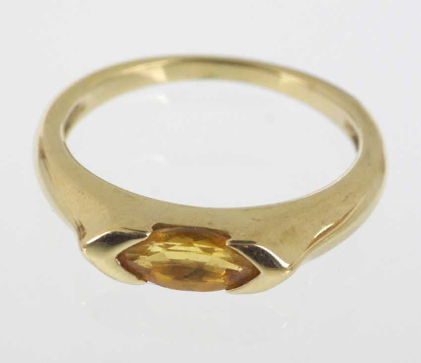 Citirn Ring - Yellow Gold 375 - photo 1