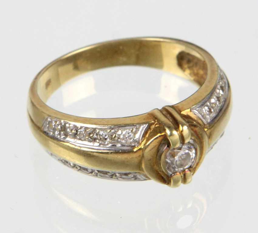 Brillant Ring - Gelbgold 585 - photo 1