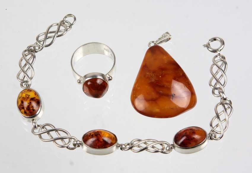 Items Of Amber Jewelry - photo 1
