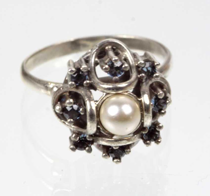 Art Deco Ring mit Perle - photo 1