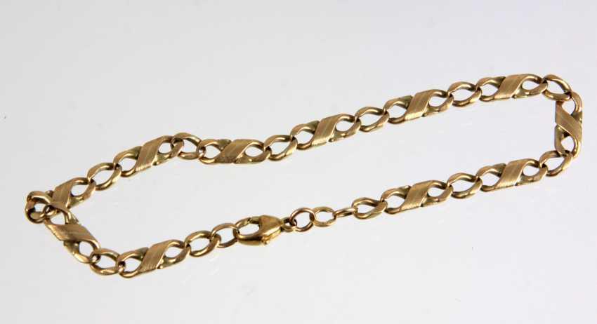 gold bracelet - yellow gold 333 - photo 1